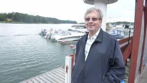 Kurt Kronehag arbetade i tjugo år som lots i närheten av Pargas port.