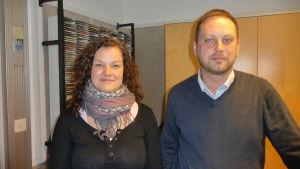 Nina Ingves och Jesper Wikström
