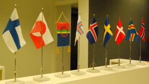 norden, nordens flaggor, nordiskt samarbete