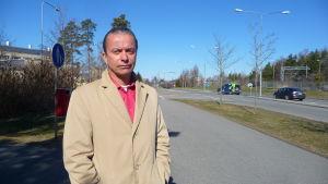 Anders Östergård, direktör för trafik- och infrastruktur på Södra Österbottens NTM-central