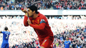 Luis Suarez, Liverpool, april 2013