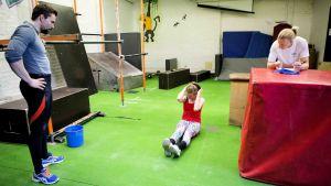 Toimittajan leuanvetohaaste, Urheilutiedettä, osa 3, testit