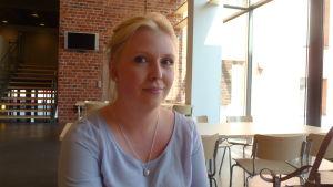 Nathalie Wingren, ordförande för utvecklingspsykologernas ämnesförening Katharsis.
