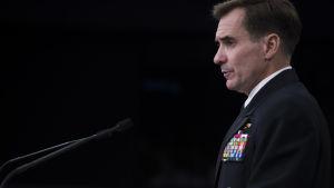 Pentagons talesman John Kirby