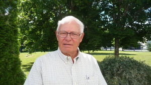 Johan Stoor är viceordförande i intresseföreningen för en levande skärgård.