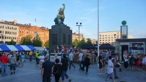 Konstens natt i Vasa 2014.