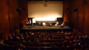 Del fyra av seminariet om Europas och Österbottens framtid lockade åhörare till Ritz.