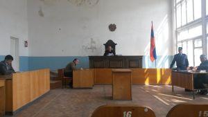 Domstolen i staden Gavar, Armenien