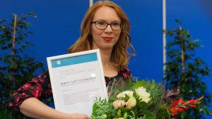 Maria Turtschaninoff med diplom