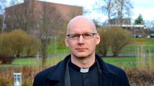 Kyrkoherde Janne Silvast