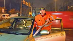 "Stefan ""Steff"" Ekström har varit vägserviceman i 38 år."