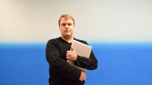 Tommy Eklund är apputvecklare.