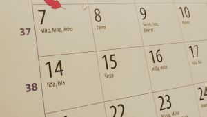 Nimipäiväkalenteri