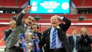 Dave Whelan var länge ordförande för Wigan.