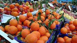 Italienarna kan också det här med frukt och grönsaker.