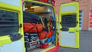 En välutrustad ambulans.