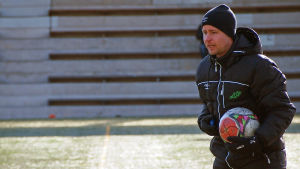 EIF:s tränare Jens Mattfolk