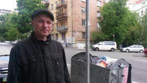 Jaroslav är hemlös