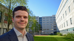 Michael Biaudet jobbar på den strategiska designbyrån Kuudes kerros.
