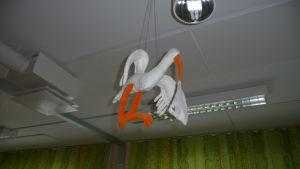 Stork på BB i Salo.