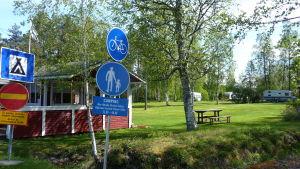 Campingplatsen i Kaskö