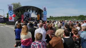 Publik under suomi-areena i Björneborg 2015.