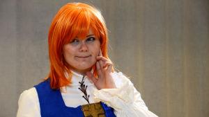 Bild på Sandra Westerbladh i cosplaydräkt