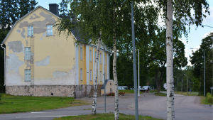 Kommendanthuset i Lovisa. Bilden tagen 2015