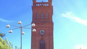 Klockan på Trefaldighetskyrkan i Vasa