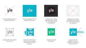 Yles logotyp får inte redigeras.