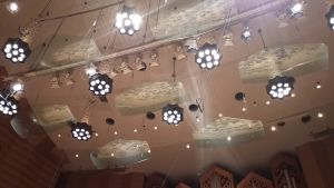 konserttisalin katto