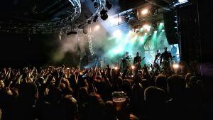 Ghost på The Circus i Helsingfors 9.11.2015