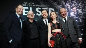Det centrala teamet bakom filmen.