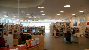 Söderkulla bibliotek stora salen