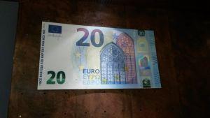 Nya 20-euros sedeln, Finlands Bank, 2015