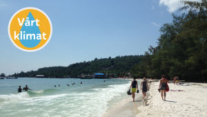 Strand på Koh Rong