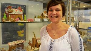 Agneta Torsell, rektor i Lagstads skola