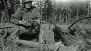 Ylikersantti Esko Määttä tuhosi Ihantalassa panssarikauhulla neljä tankkia.