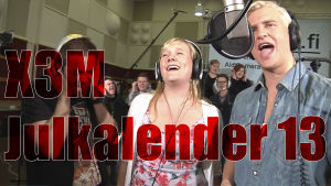 X3M Julkalender 13, skärmdump, vappen kommer snart feat. lyran