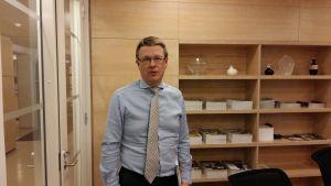 Timo Lappi, vd för Turism- och restaurangförbundet