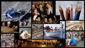 Kollage över händelser 2015