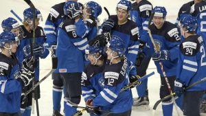 Finländskt firande på isen