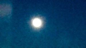 Fullmåne i juli.