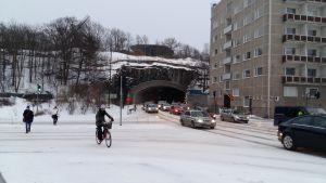 Kvarntunneln i Åbo.