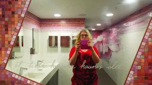 Spegelselfie av Ida Fellman på HAM, 2016
