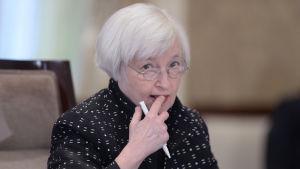 Janet Yellen, styrelseordförande för Federal Reserve Board of Governors