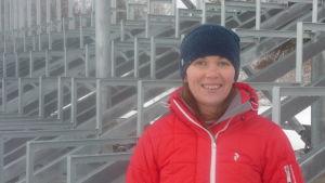 Patricia Bergkulla, ordförande för Lappfjärds gymnastikförening.