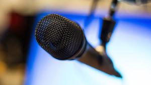 Mikrofon i närbild