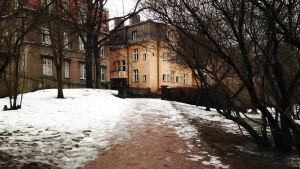 En terrass i Eira ska döpas efter Georg Henrik von Wright