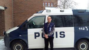 Överskonstapel Heikki Vatanen, polisen i Ilomants